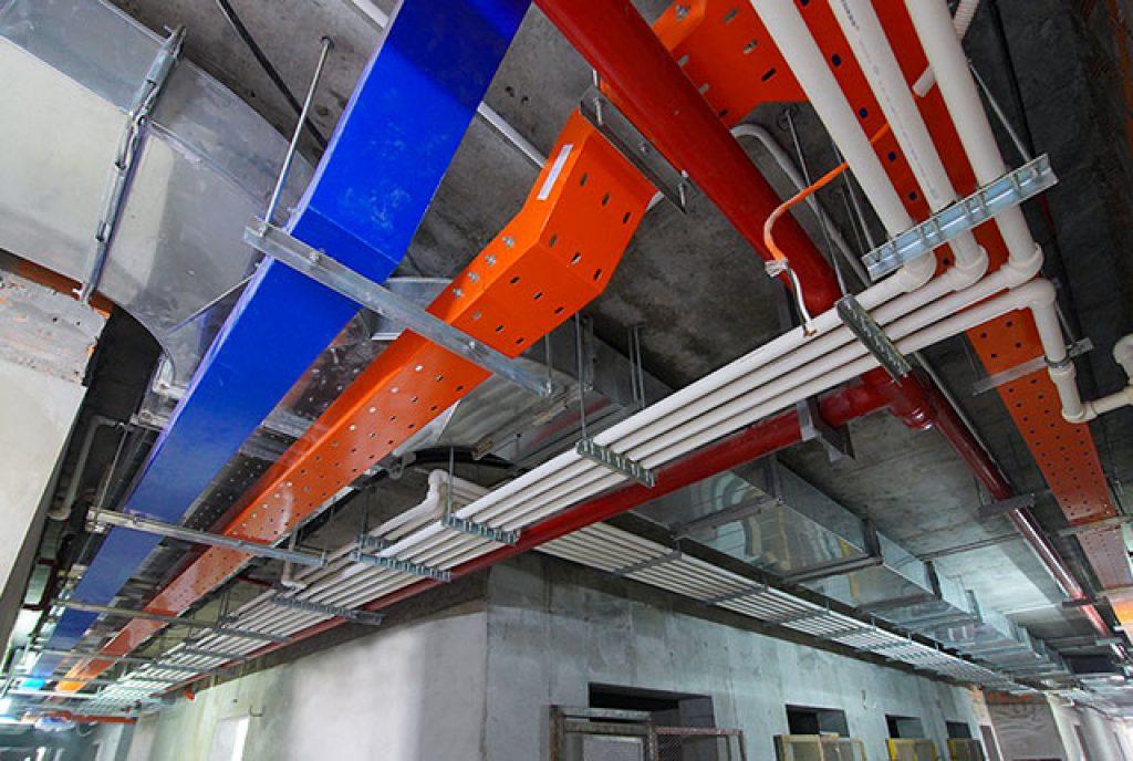 Lắp đặt hệ thống M&E từ tầng 5 đến tầng 19 block Mercury và block Uranus